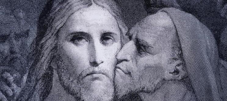 Vergebung für Judas? Predigt zu Johannes 13,21-30, 21.2.2021